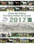 Guide des Étalons Pur-Sang Arabes de Course 2017
