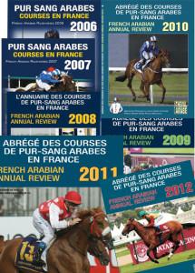 PACK 8 Abrégés des Courses de Pur-Sang Arabes 2008 - 2015