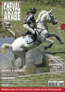 57 - LES CAHIERS DU CHEVAL ARABE