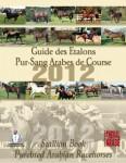 Guide des Etalons Pur-Sang Arabes de Course 2012