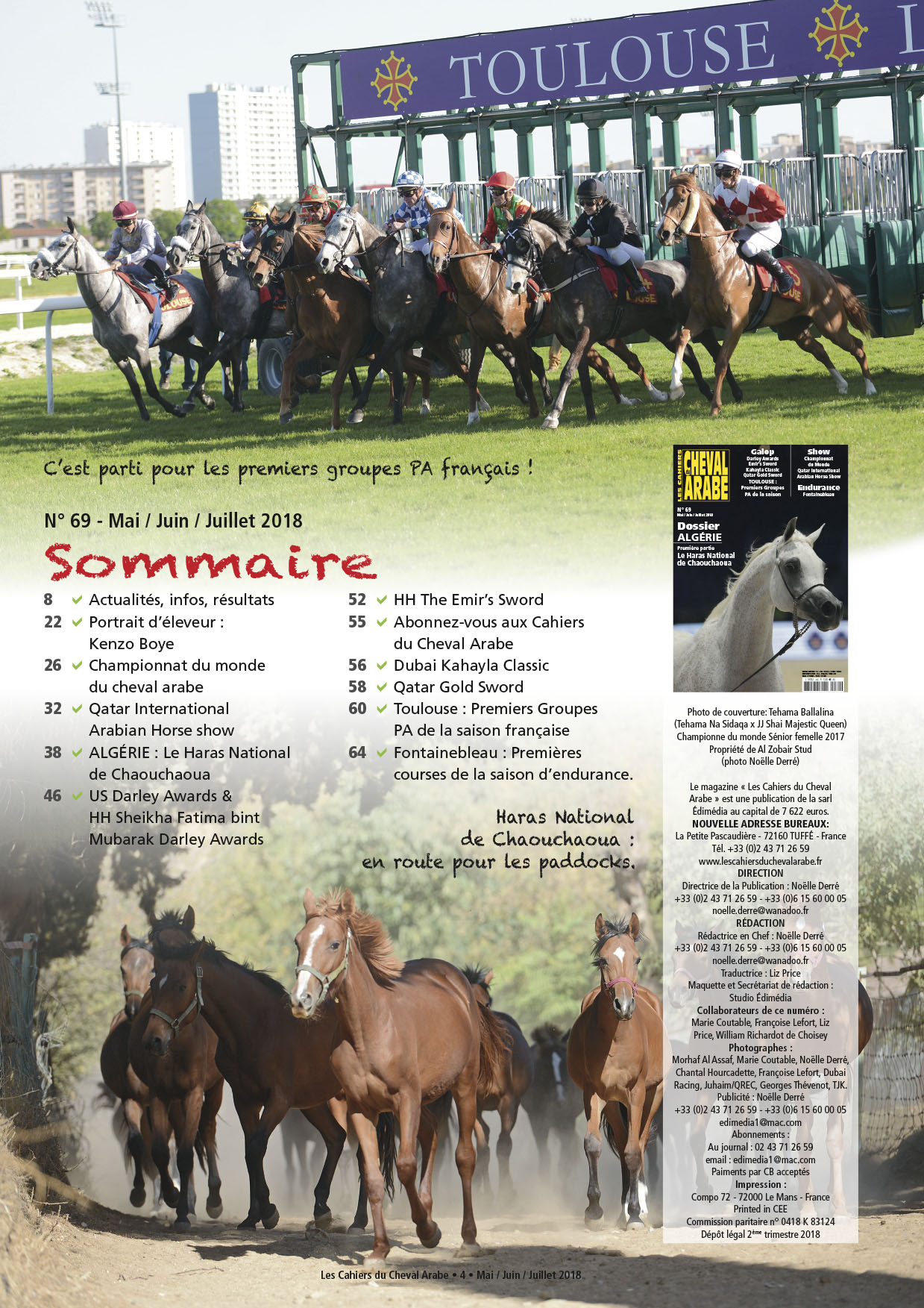 sommaire CCA-69